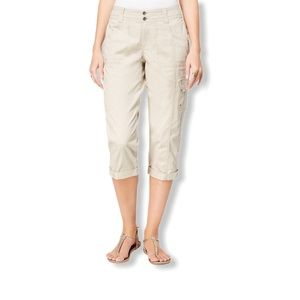 Style & Co Cropped Cargo Pants